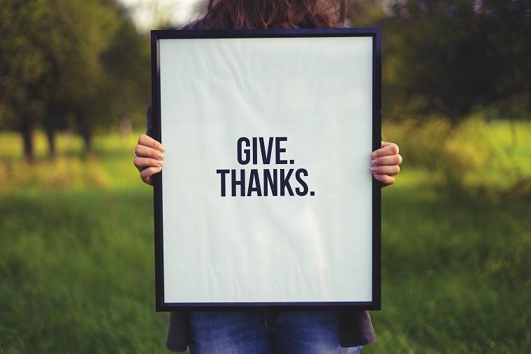 Αλήθεια, ποια ήταν η τελευταία φορά που είπες «Ευχαριστώ»;